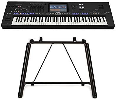 Yamaha Genos 76-Key Digital Workstation with L7B Stand for Genos