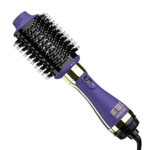 Hot Tools Signature Series One Step Blowout Detachable Volumizer and Hair Dryer, Ceramic, 2.8″ Regular Barrel One Step