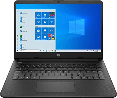 HP – 14″ Laptop – AMD Athlon Silver – 4GB Memory – 128GB SSD – Jet Black – 14-fq0013dx