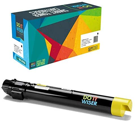 Do it Wiser Compatible Toner Cartridge Replacement for Xerox WorkCentre 7545 7845 7525 7835 7530 7535 7556 7830 7855 High Yield – 006R01514 – Yellow