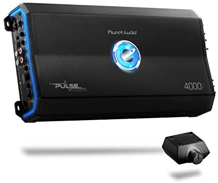 Planet Audio PL4000.1D Class D Car Amplifier – 4000 Watts, 1 Ohm Stable, Digital, Monoblock, Mosfet Power Supply, Great for Subwoofers