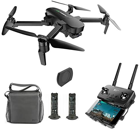 Hubsan Zino Pro 4K Drone with 3-Aix Gimbal GPS Quadcopter Live Video 5G WiFi 4km FPV Drone Brushless for Beginners(Camera Lens Filter and Two Batteries Included)
