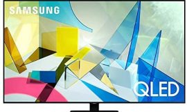 SAMSUNG 49-inch Class QLED Q80T Series – 4K UHD Direct Full Array 8X Quantum HDR 8X Smart TV with Alexa Built-in (QN49Q80TAFXZA, 2020 Model)