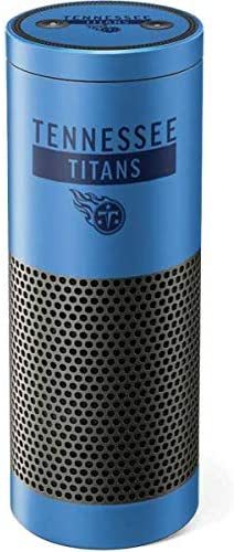 Skinit Decal Audio Skin for Amazon Echo Plus – Officially Licensed NFL Tennessee Titans Blue Performance Series Design