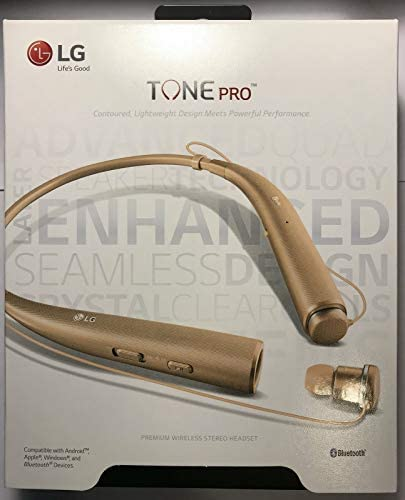 LG Tone PRO HBS-780 Wireless Stereo Headset – Gold