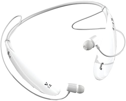 LG Electronics Tone Ultra (HBS-800) Bluetooth Stereo Headset – Retail Packaging – White