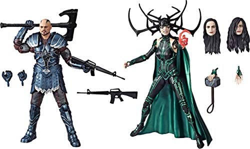 Marvel Legends Series Thor: Ragnarok 6″-Scale Movie-Inspired Skurge & Marvel's Hela Collectible Action Figure 2 Pack