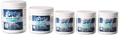 TRI-Start 30 Day Supply Health Kit by Dr Farrah World Renown Medical Doctor   Includes 3X Boston C Concentrate – 1x MEGA-DOSE Vitamin C – 1x Pixie DUST Magnesium  