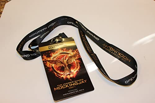 Hunger Games Catching Fire AMC Exclusive Movie Theater Promo Lanyard Opening Night Marathon