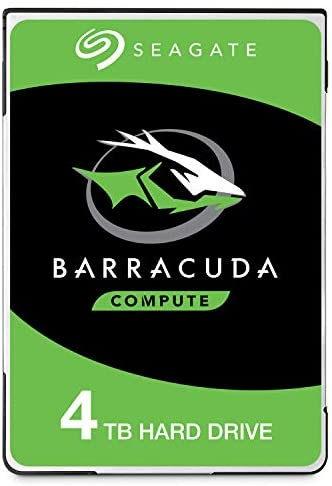 Seagate Barracuda ST4000LM024 4 TB 2.5″ Internal Hard Drive