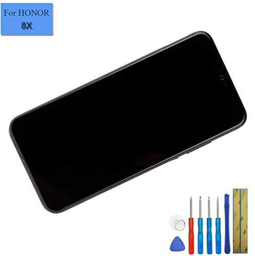 LCD Touch Screen Assembly Compatible with Huawei Honor 8X/Honor View 10 Lite digitizer Display with Frame+ Tools (Black)