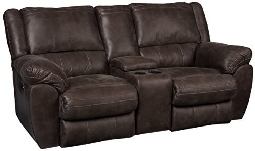 Lane Home Furnishings Shiloh Double Motion Loveseat with Console