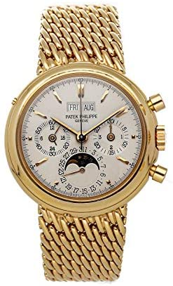 Patek Philippe Grand Complications Mechanical (Hand-Winding) Silver Dial Watch 3970/002R (Pre-Owned)