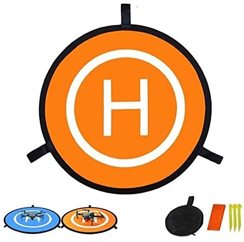 Drone Landing Pad, 21.69inch Universal Portable Foldable Waterproof Landing Pads for DJI Mavic Pro Phantom 2/3/4/ Pro RC Drones 3DR Solo Helicopter and All Other Quadcopters