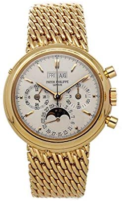 Patek Philippe Grand Complications Mechanical (Hand-Winding) Silver Dial Watch 3970/2R-001 (Pre-Owned)