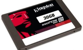 Kingston Digital, Inc. 30GB SSDNow S200 SATA 3 2.5 Solid State Drive for Mac and PC SS200S3/30G
