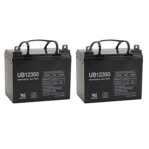 12V 35AH Jazzy Select GT Power Chair Scooter Battery – 2 Pack
