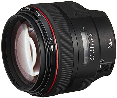 Canon EF 85mm f1.2L II USM Lens for Canon DSLR Cameras – Fixed