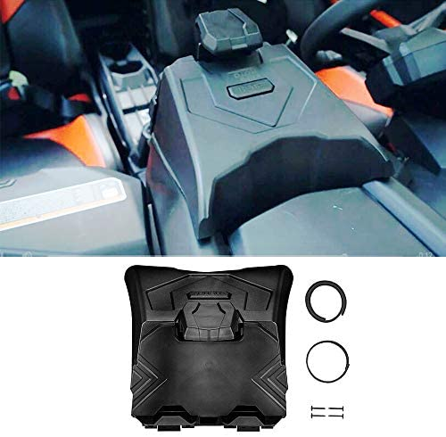 X3 Tablet Holder for 2017-2021 Can Am Maverick X3, ISSYZONE Electronic Device Holder with Integrated Storage – Fits 2017 2018 2019 2020 2021 Can Am Maverick X3 Max