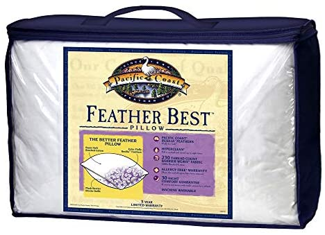 Pacific Coast Restful NightsFeather Best Pillow King – King