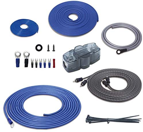 Recoil True 4 Gauge Complete CCA Amplifier Wiring Kits with OFC RCA Cable