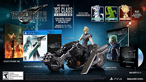 Final Fantasy VII Remake – 1st Class Edition (PS4)