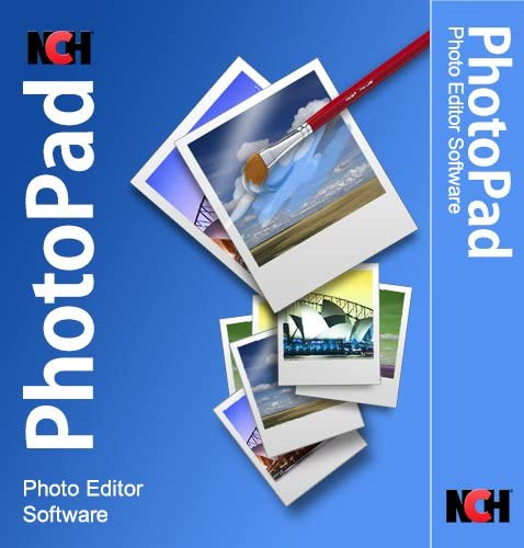 PhotoPad Photo Editing Software – Edit, Crop, Rotate, Touch-up or Apply Effects [Download]