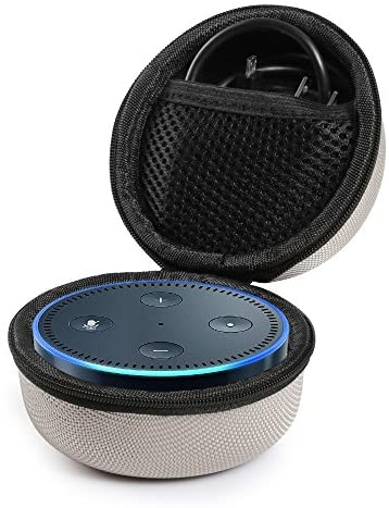 Faylapa Travel Carry Case Portable Protective Case for Amazon Echo Dot and All New Echo Dot 2