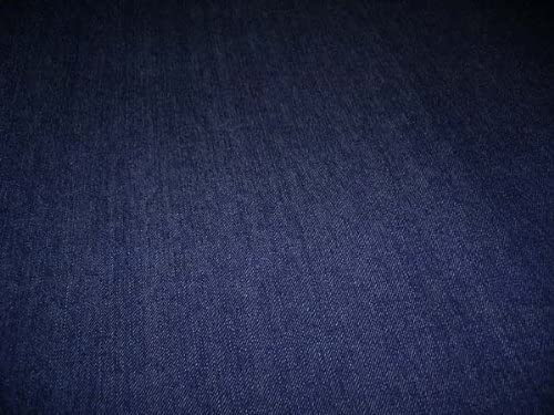 D&D Futon Furniture Real Denim Jean Full Size Futon Mattress Cover, Thick and Durable Dark Blue Denim.