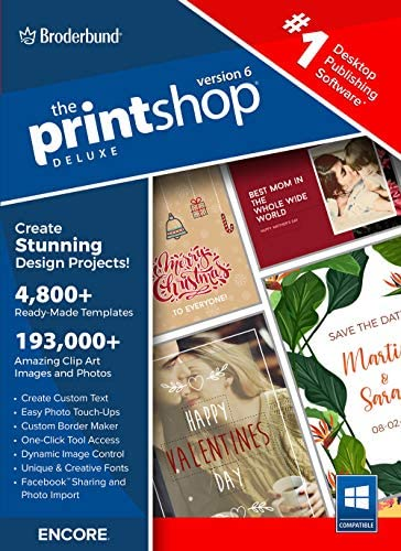 The Print Shop Deluxe 6.0 [PC Download]