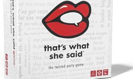 That's What She Said – The Twisted Party Game (Base Game)