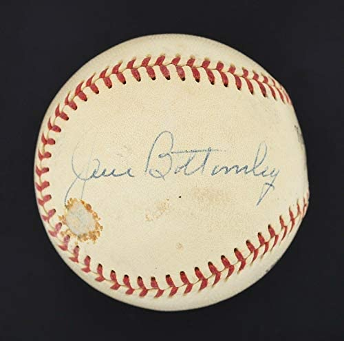 The Finest Jim Bottomley Single Signed ONL Baseball D.1959 Cardinals JSA LOA – Autographed Baseballs