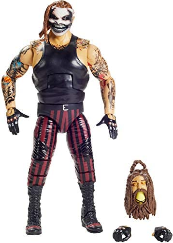 "WWE MATTEL ""The Fiend"" Bray Wyatt Elite Series #78 Deluxe Action Figure with Realistic Facial Detailing, Iconic Ring Gear & Accessories, Multi (GKY13)"
