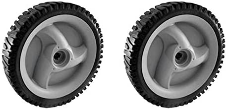 Craftsman 583719501 Lawn Mower Wheel, 8 x 1.75-in, 2-Pack, Genuine Original Equipment Manufacturer (OEM) Part