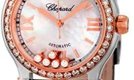 Chopard Happy Sport 30mm Steel & Gold Woman's Watch with Automatic Movement
