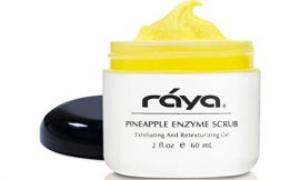 RAYA Pineapple Enzyme Facial Scrub (120) | Exfoliating and Refining Facial Scrub for Combination Skin | Creates a Glowing Complexion | Made with Pineapple Enzymes and Jojoba Beads