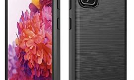 Dzxouui for Samsung S20 FE 5G Case,Galaxy S20 FE 5G Case,Samsung Galaxy S20 Fan Edition Case,Protective Phone Cover Shockproof Soft TPU Case for Samsung Galaxy S20 FE 5G / S20 Fan Edition(DL-Black)