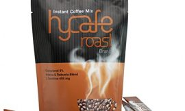 Hycafe Roast Instant Coffee Mix Packets 18 in 1 Slimming Dietary Supplement Sugar Free Zero Calories with tracking & gift (5 Packs)