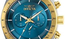 Invicta Men's Speedway Quartz Watch with Stainless Steel Strap, Two Tone, 22 (Model: 30035)