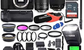 Canon EOS 90D DSLR Camera with EF-S 18-135mm f/3.5-5.6 is USM Lens + Tamron 70-300mm AF Lens, Battery Grip with Advanced Professional Photo & Travel Bundle