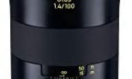 Zeiss Otus 100mm f/1.4 Apo Sonnar ZE Series Manual Focusing Lens for Canon EOS Cameras Black (Renewed)