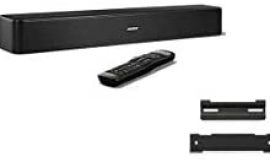 Bose Solo 5 TV Sound System with Bluetooth Connectivity – Bundle With Bose WB-120 Wall Mount Kit