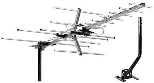 [Newest 2020] Five Star TV Antenna Indoor/Outdoor Yagi Satellite HD Antenna with up to 200 Mile Range – Attic or Roof Mount TV Antenna, Long Range Digital OTA Antenna for 4K 1080P with Mounting Pole