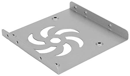 Easy Installation Matte Surface Mold Stamping and Forming Hard Drive Holder, Drive Bracket, Metal for SATA/IDE(White)
