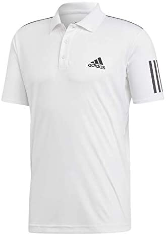 adidas Men's 3-Stripes Club Polo Shirt