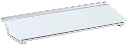 Quartet Glass Desktop Computer Pad, 18″ x 6″, Whiteboard, Dry Erase Surface, White Surface (GDP186)