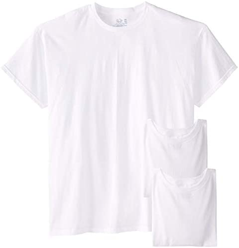 Fruit of the Loom Men's Big Size Crew T-Shirts (Pack of Three)