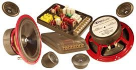Hd-62us Gold – CDT Audio 6.5″ 2 Way Complete Component Set with Built-in Upstage System