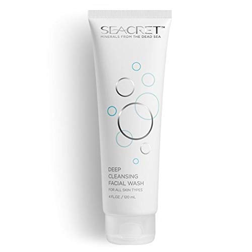 SEACRET Minerals From The Dead Sea, Deep Cleansing Facial Wash 4 FL.OZ.