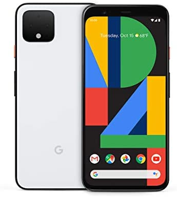 Pixel 4 – Clearly White – 64GB – Unlocked